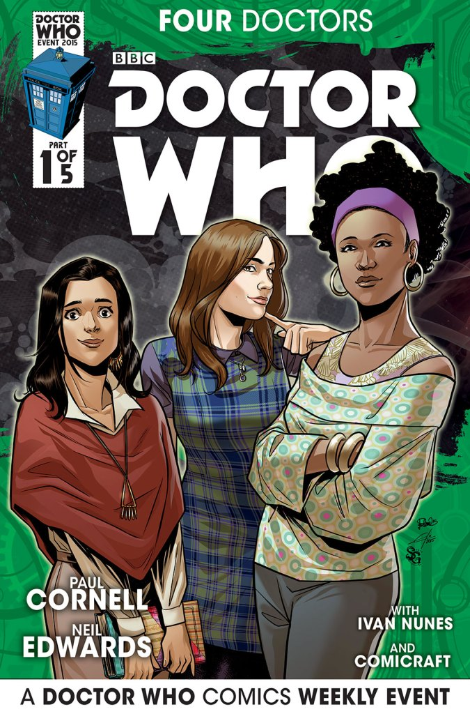 Doctor Who: Four Doctors - Companion Cover C1