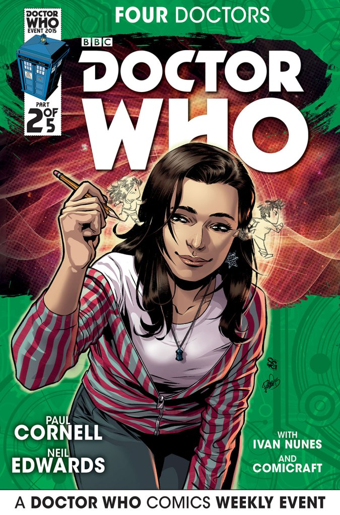 Doctor Who: Four Doctors - Companion Cover C2