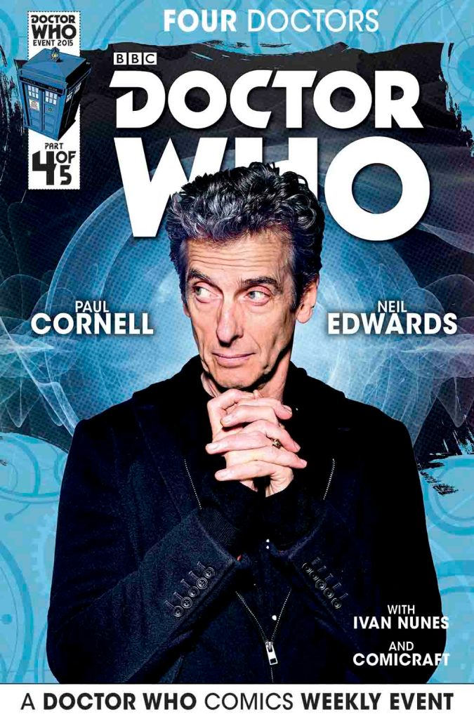 Doctor Who: Four Doctors - Cover B4