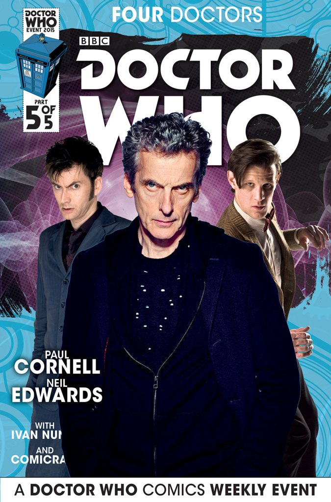 Doctor Who: Four Doctors - Cover B5