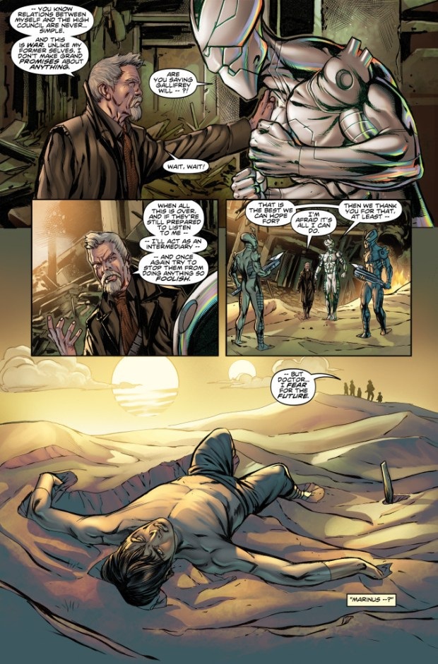 Doctor Who: Four Doctors #1 - Preview 5
