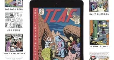 Toronto Comic Art Festival 2015 Digital Anthology Promotion