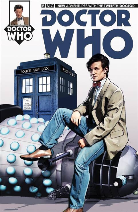 Doctor Who art by John Charles