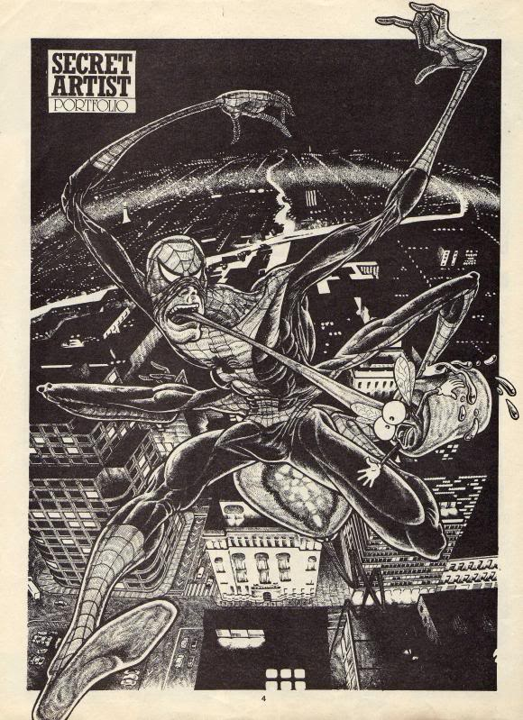 Episode 7 of Marvel's Secret Artist, wrutten by Ian Rimmer, with the strip page drawn by Simon Jacob and the caricature by Richard Green
