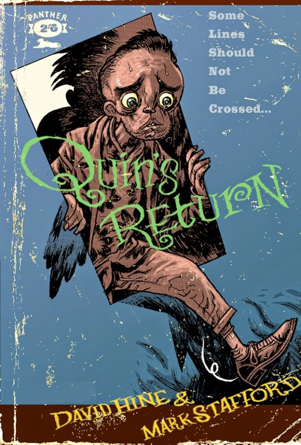 Quin's Return written by David Hine and drawn by Mark Stafford