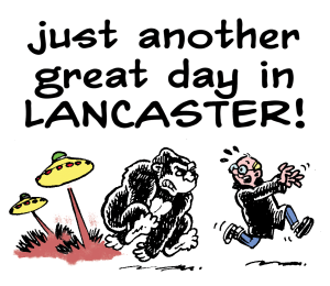 Really Heavy Greatcoat: Just Another Great Day Out in Lancaster!