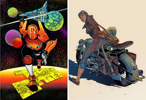 Broken Frontier Anthology - Prints