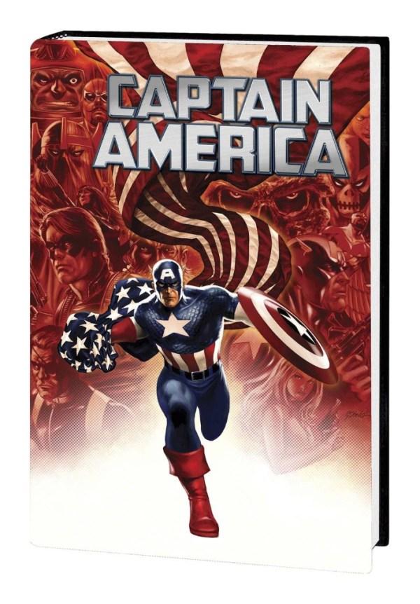 Captain America Return Of Winter Soldier Omnibus Hard Cover