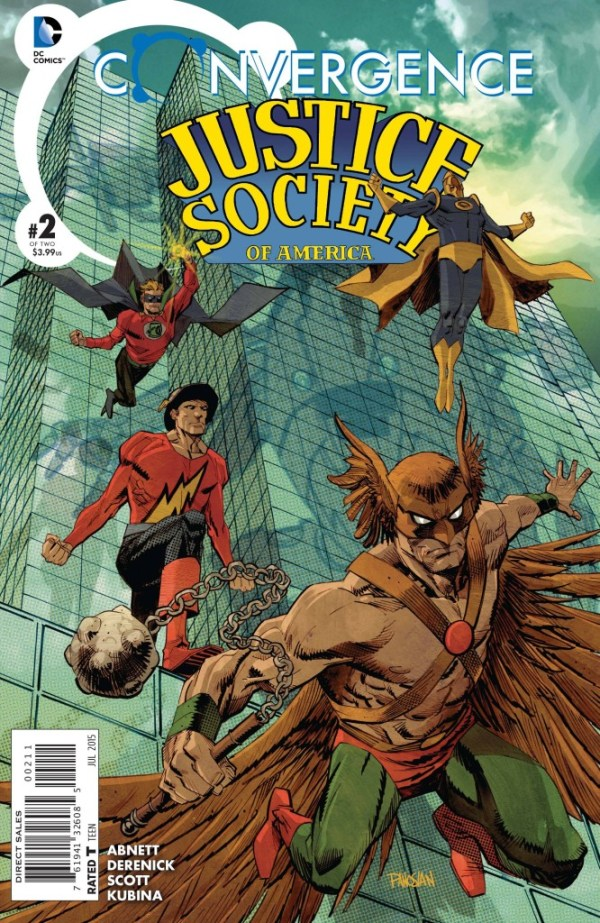 Convergence Justice Society Of America #2