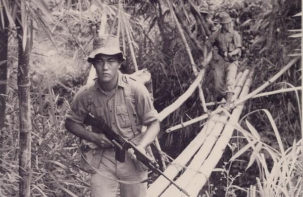 Gurkha soldiers in Borneo. Crown Copyright