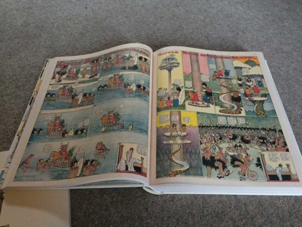 """A typical spread of two """"Little Nemo"""" strips from the stunning Taschen collection."""