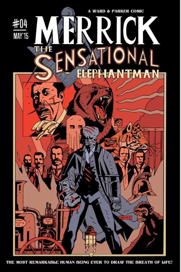 Merrick: The Sensational Elephantman Issue 4