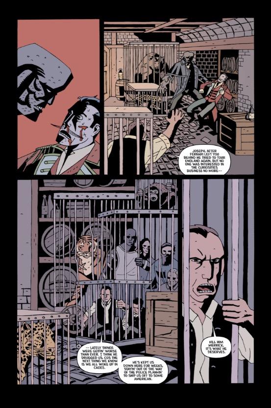 Merrick: The Sensational Elephantman Issue 4 - Page 1