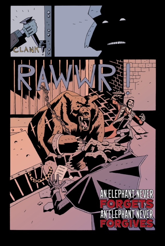 Merrick: The Sensational Elephantman Issue 4 - Page 3