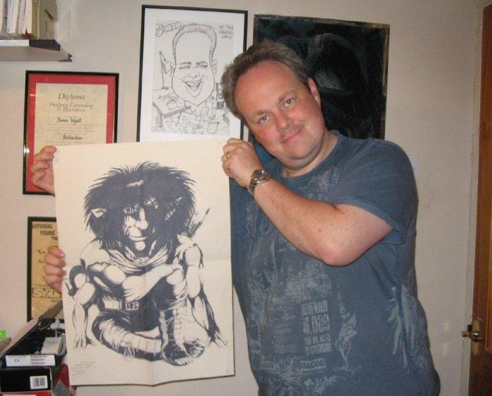 Artist Simon Wyatt