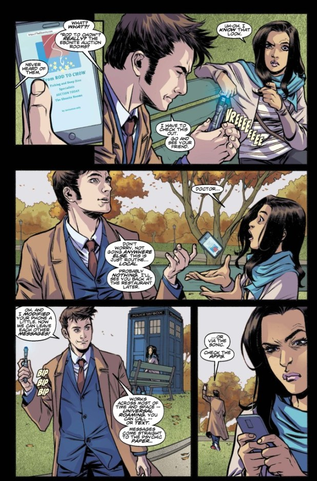Doctor Who: Tenth Doctor #11 - Sample Page