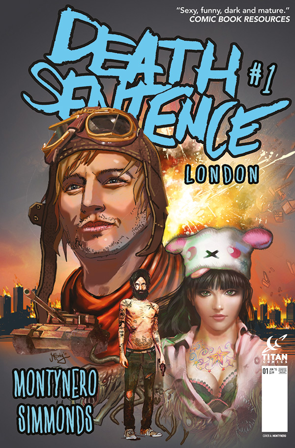 Death Sentence London #1 - Cover A