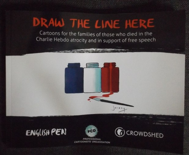 Draw The Line Here Cover