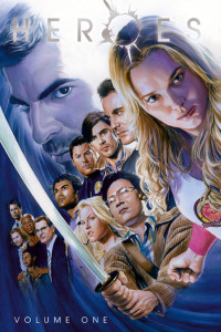 Episodes 1-34 of the NBC Heroes graphic novels were collected and published by Widlstorm, wrapped in a cover is by Alex Ross.