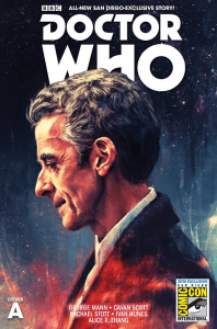 Doctor Who San Diego Comic-Con 2015 Special - Cover A by Alice X. Zhang