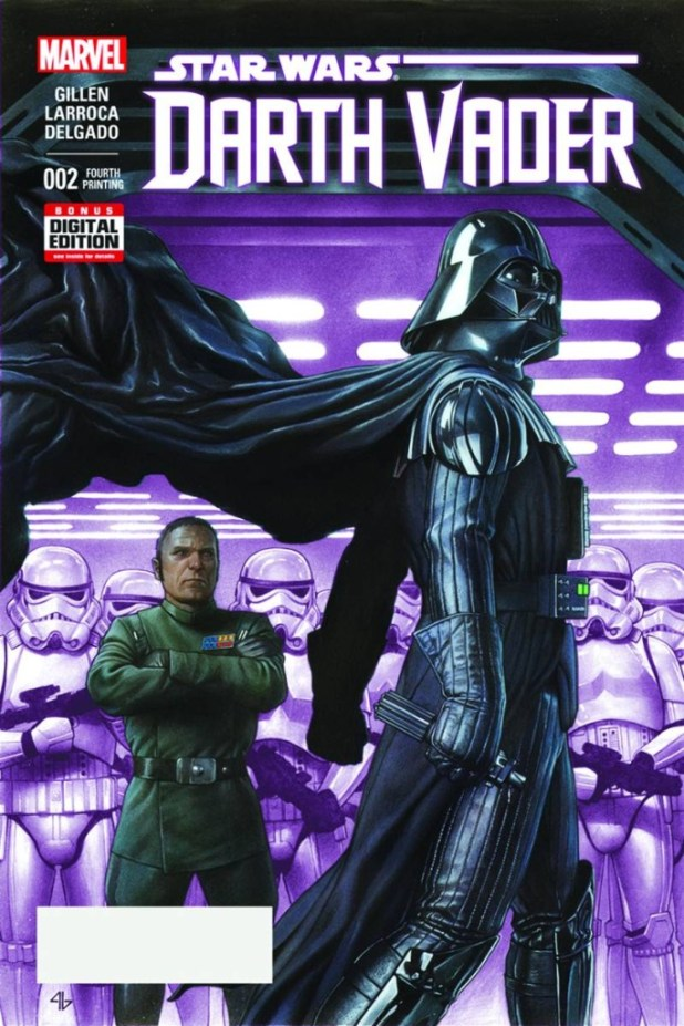 Darth Vader #2 Granov 4th Printing Variant