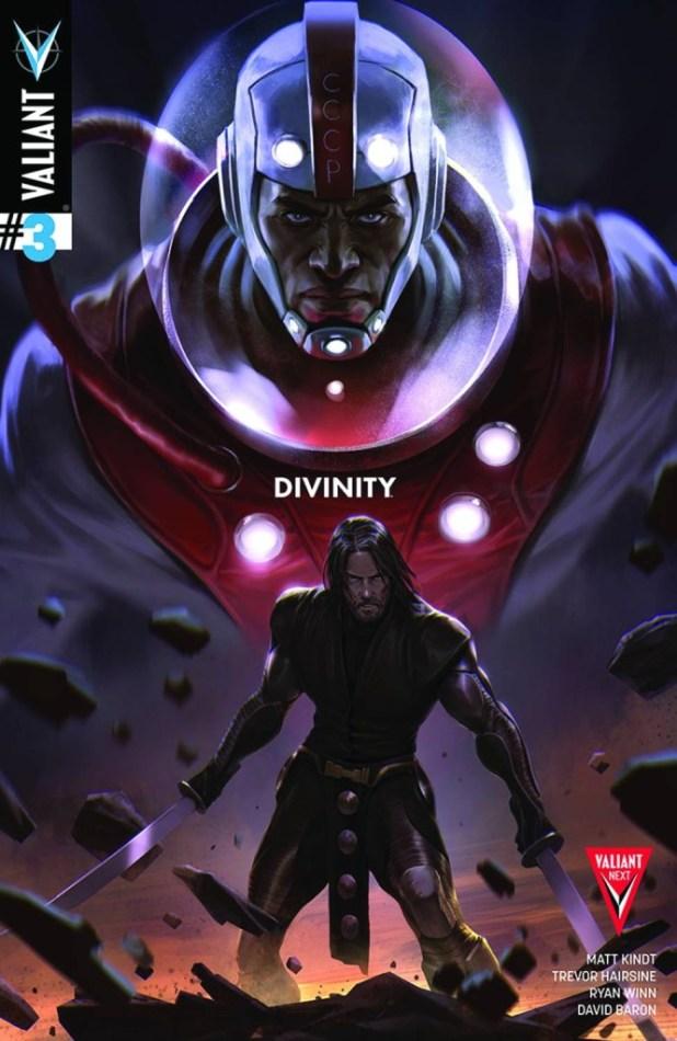 Divinity #3 2nd Printing