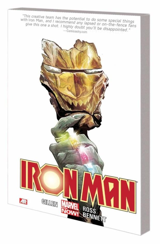 Iron Man Trade Paperback Volume 5 Rings Of Mandarin