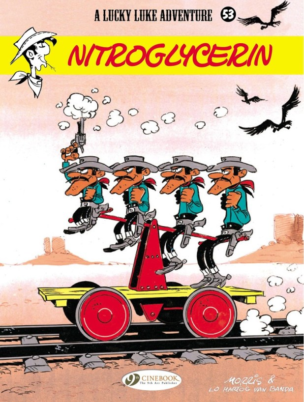 Lucky Luke Vol 53 : Nitroglycerin