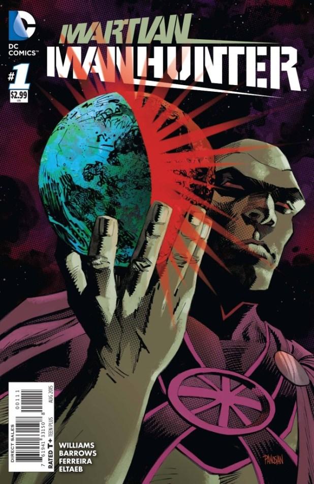 Martian Manhunter #1 - 2015