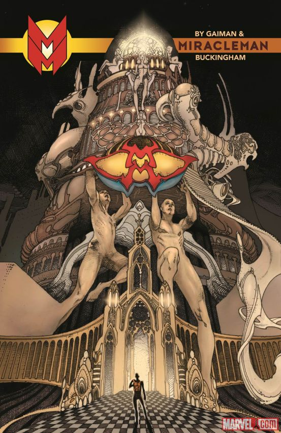 The regular cover for Miracleman #1, on sale 2nd September 2015 from Marvel.