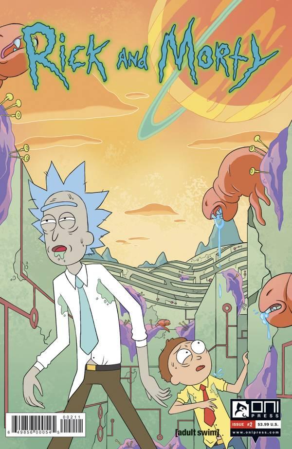 Rick & Morty #2 2nd Printing