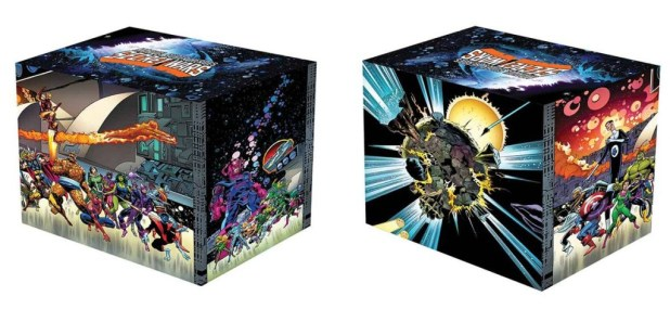 Marvel Superheroes Secret Wars Battleworld Box Set Slipcase Hard Cover