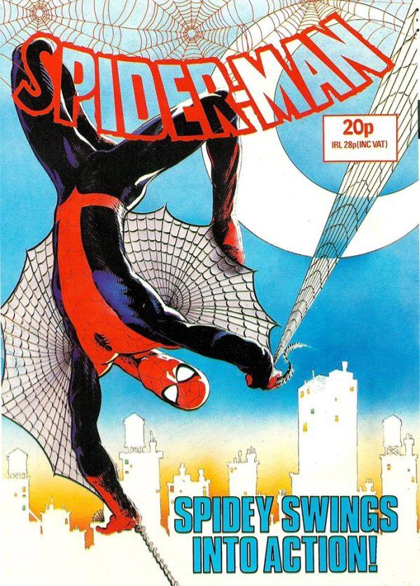 Spider-Man Comic Sample 1
