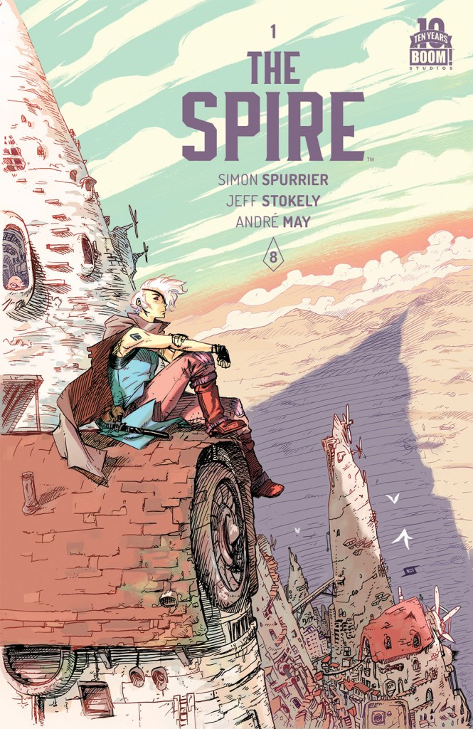 The Spire #1 Main Cover by Jeff Stokely
