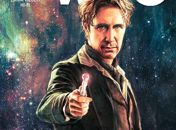 Alice X. Zhang's cover for the first issue of Titan;'s upcoming Eighth Doctor mini series.