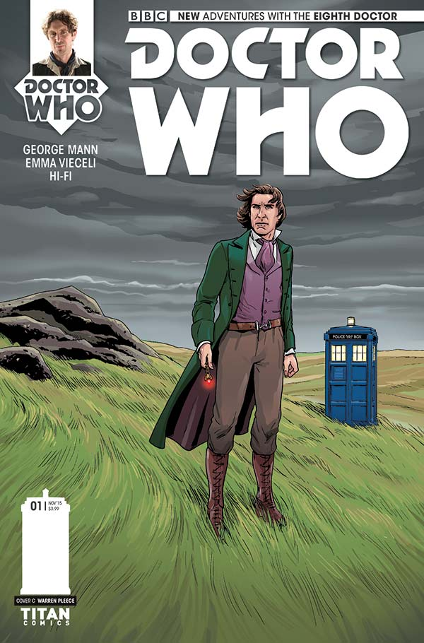 Doctor Who: The Eighth Doctor #1 Cover C - Warren Pleece