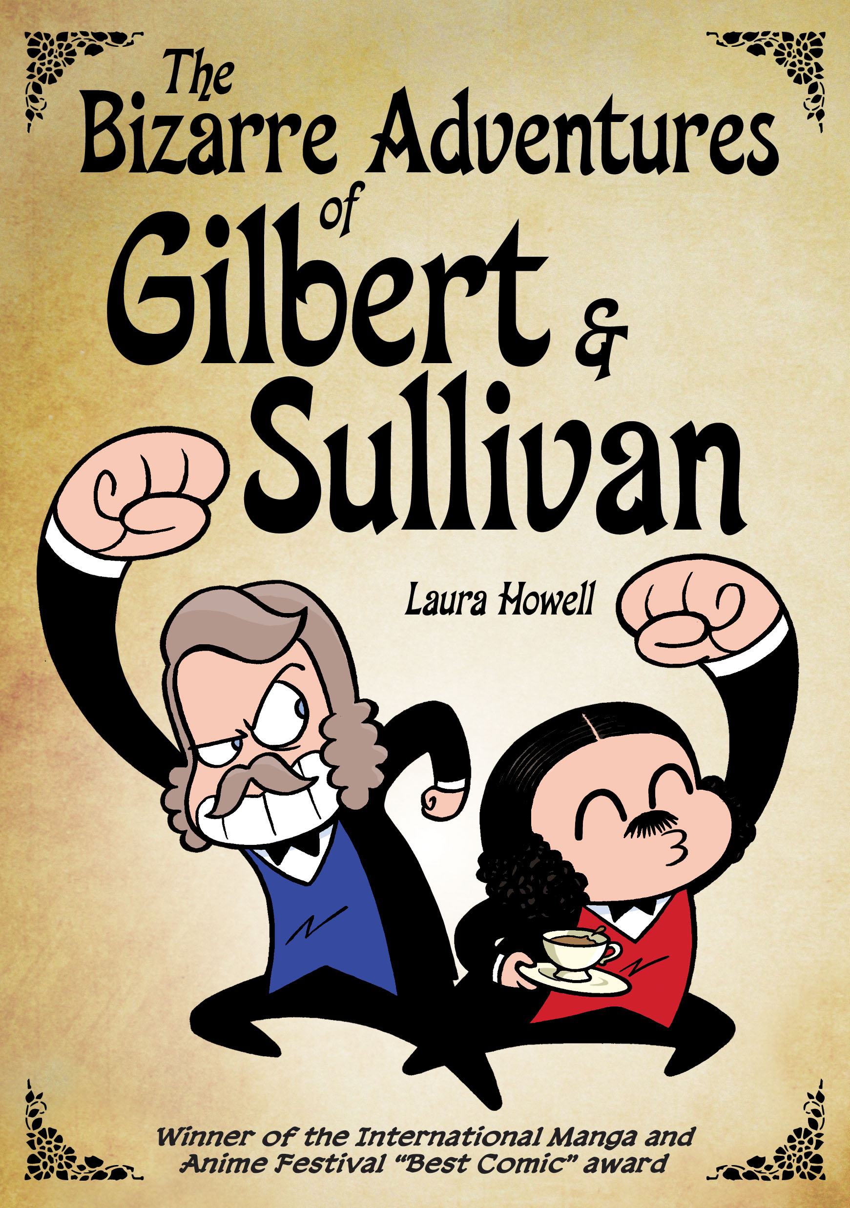Laura Howells Bizarre Adventures Of Gilbert Sullivan The Very Model A Mirthful Graphic Novel