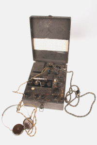 An SOE agent's radio. Over 600 members of the Intelligence Corps served in SOE.