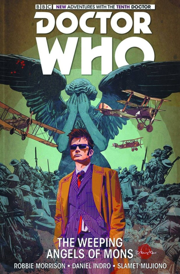 Doctor Who: The Tenth Doctor Hard Cover Volume 2 Weeping Angels Of Mons