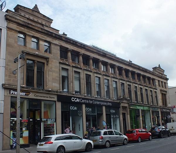 GlasgowCC15  CCA Exterior