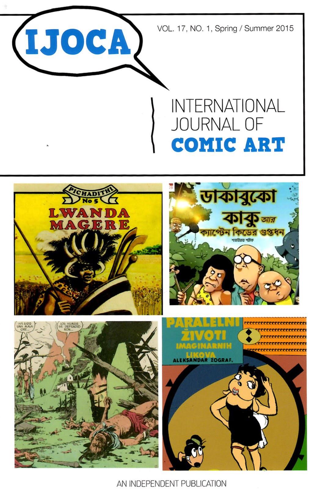 International Journal Of Comic Art