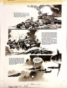True War Issue One Page 11 - art by Jim Watson