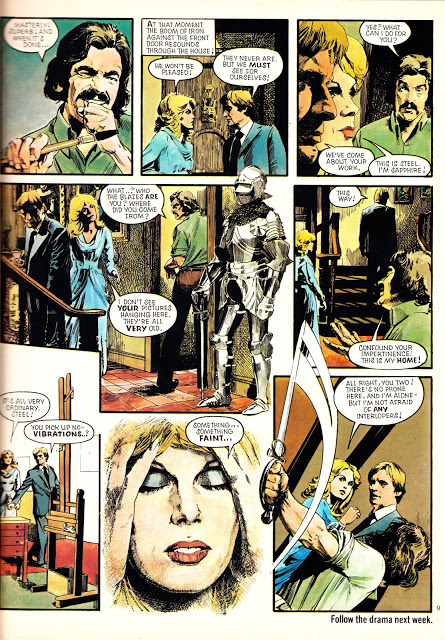 The very first Sapphire & Steel adventure published in Look-In