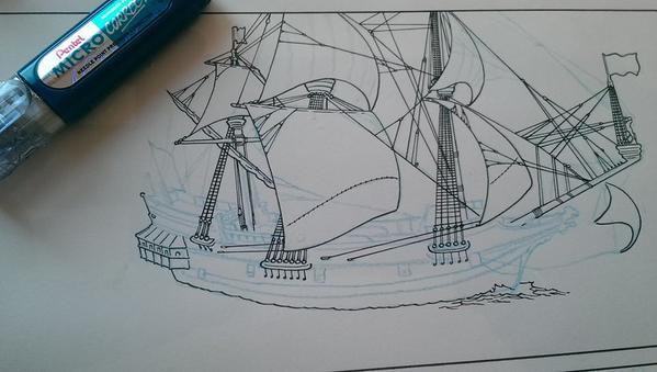 Peter Pan Ship Inks