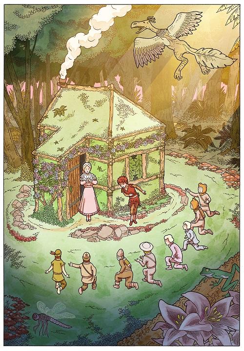 Peter Pan Wendy House
