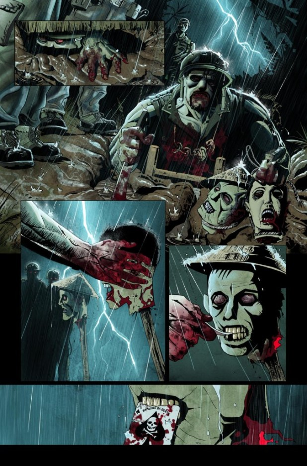 Vietnam Zombie Holocaust #2 - Sample Page