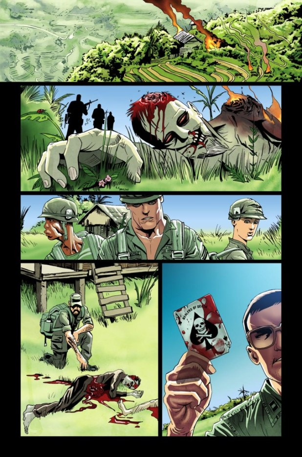 Vietnam Zombie Holocaust #2 - Sample Page