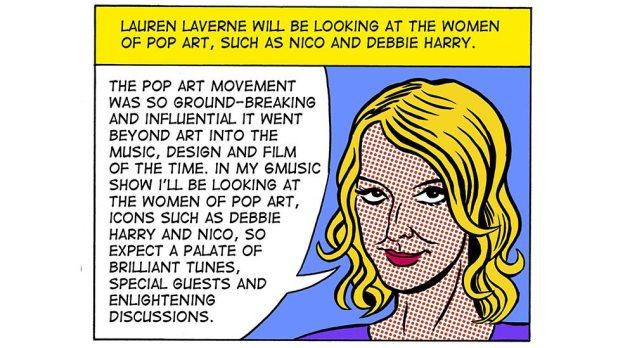 BBC Op Art: BBC Radio 6 Music Lauren  Laverne