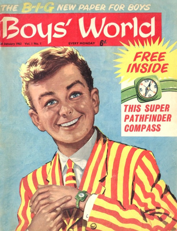 The first issue of Boy's World
