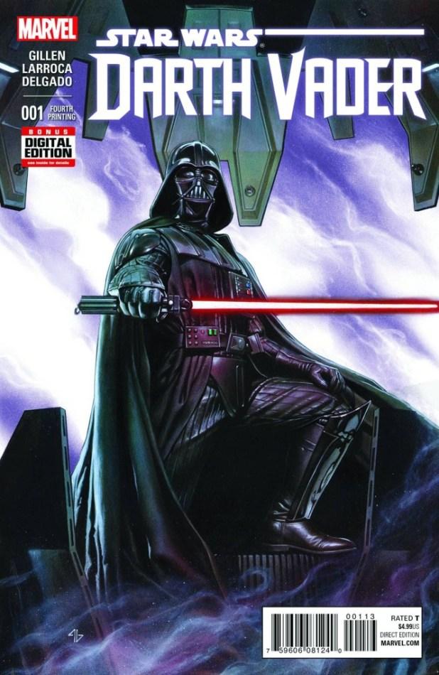 Darth Vader #1 - 4th Printing Variant